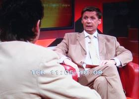 "Dr. Merkert als Studiogast bei Günther Jauch in ""SternTV"" (Screenshots: SternTV)"